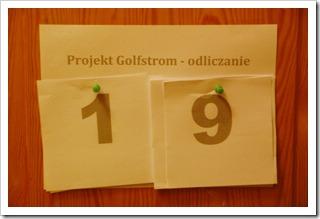 Projekt Golfstrom - odliczanie
