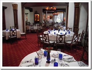 Elegancka restauracja w San Angel