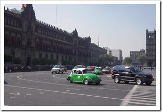 Zocalo - centralny plac miasta