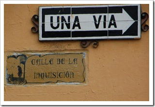 Calle de la Inquisicion