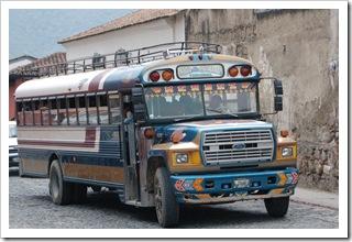 Gwatemala - Chickenbus