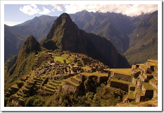 Machu Picchu ujęcie klasyczne