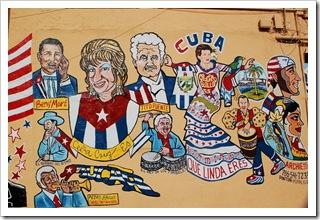 Grafitti kubańskie