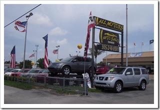 Siedziba legendarnego sprzedawcy używanych aut
