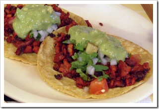 Meksykańskie taco al pastor