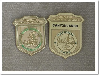 Odznaki Junior Park Rangera