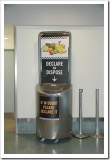 Deposit or Declare