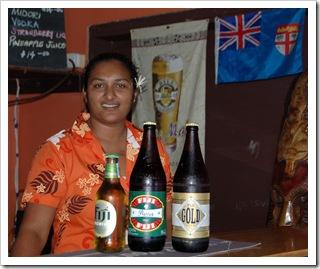 Kolekcja piw i nasza barmanka