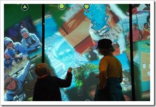Multimedialna ściana w akcji