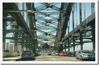 Na Harbour Bridge w Sydney