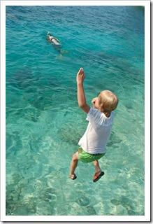 Nie mogę nurkować ale mogę skakać Honduras