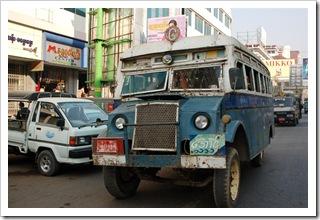 Autobus miejski w Mandalay