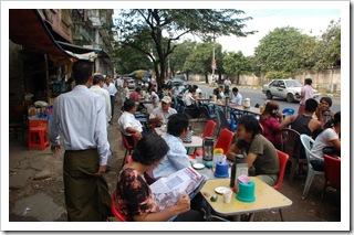 Ulica Bogyoke w Yangon (Birma)